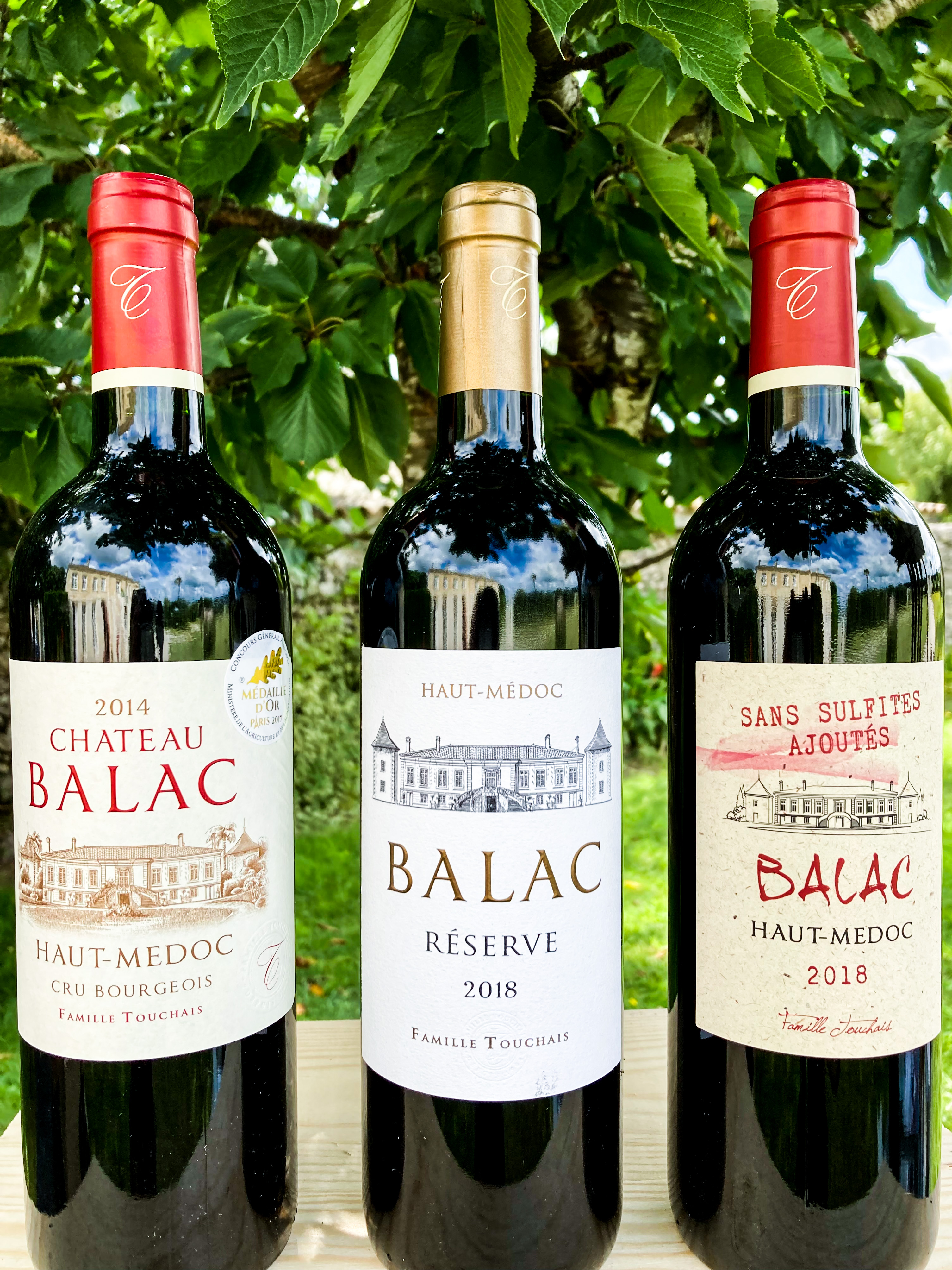 Dégustation GRATUITE de vins au CHATEAU BALAC