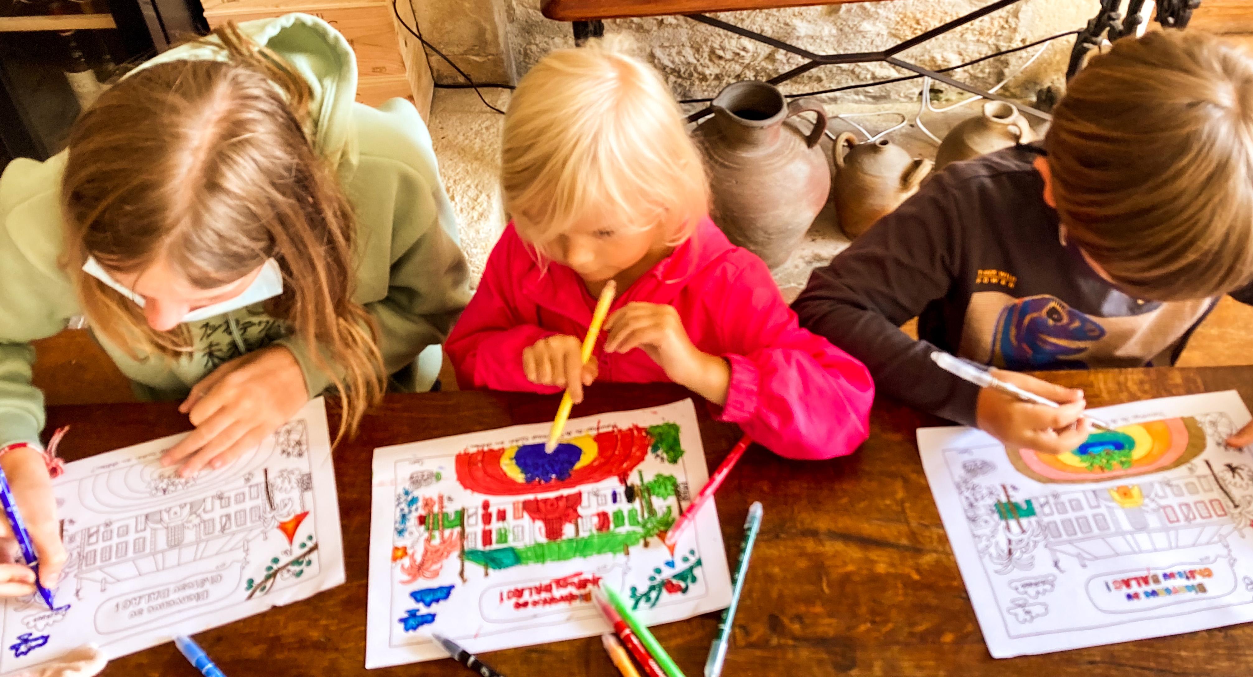 Activités pour les enfants - Route des vins