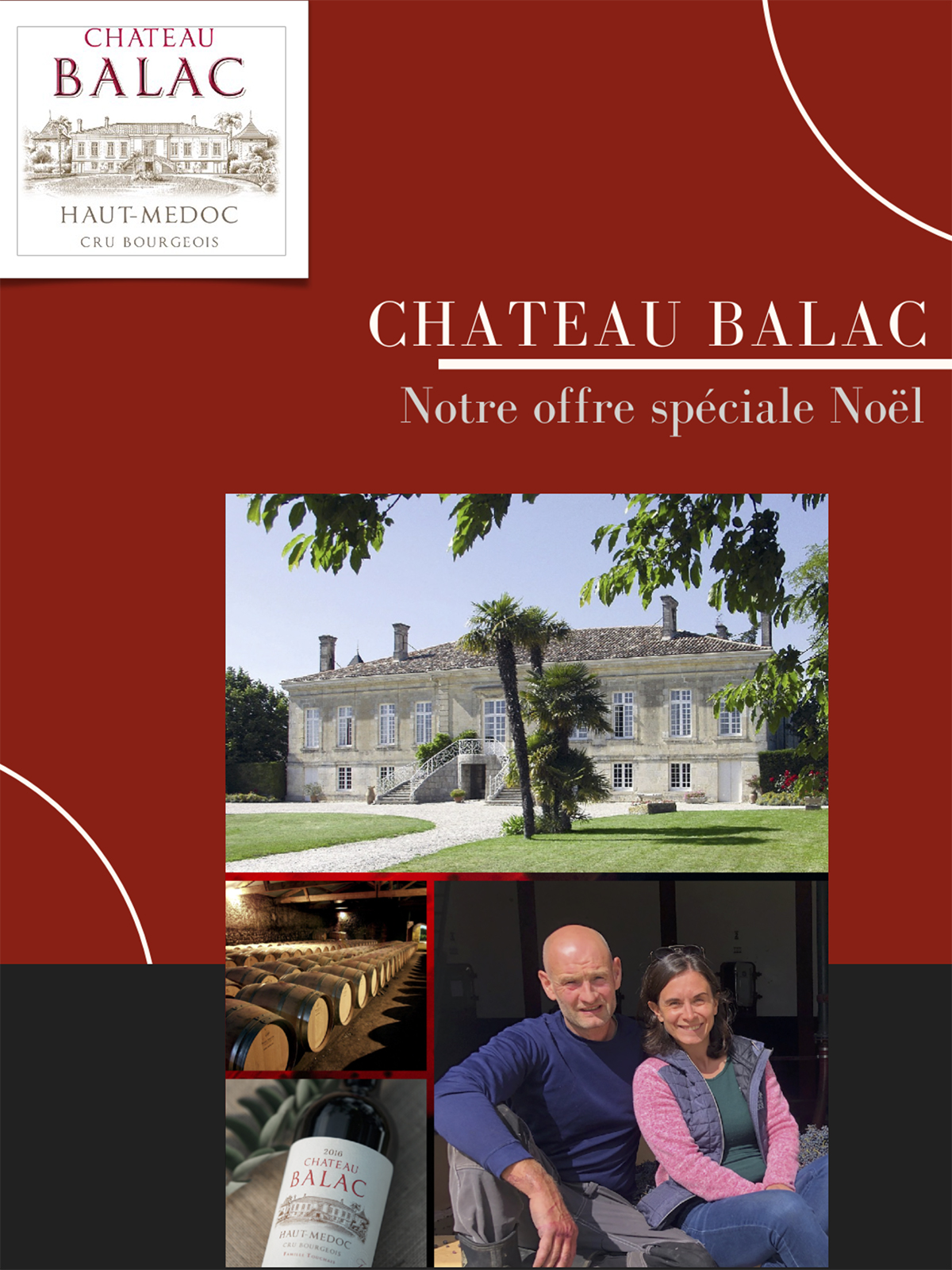 OFFRE SPECIALE NOEL CHATEAU BALAC