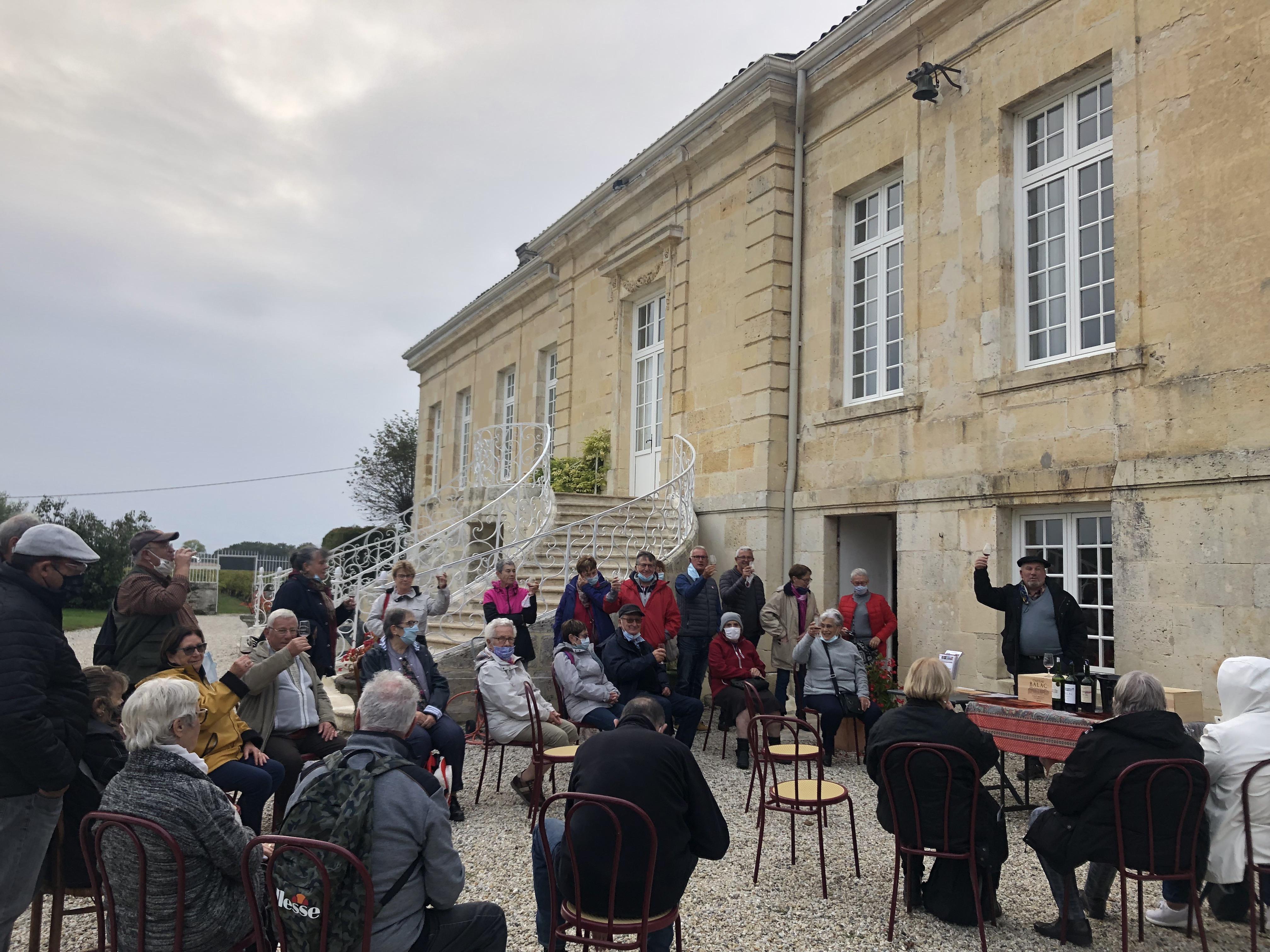 Visite guidée pour groupes dans un château de Bordeaux