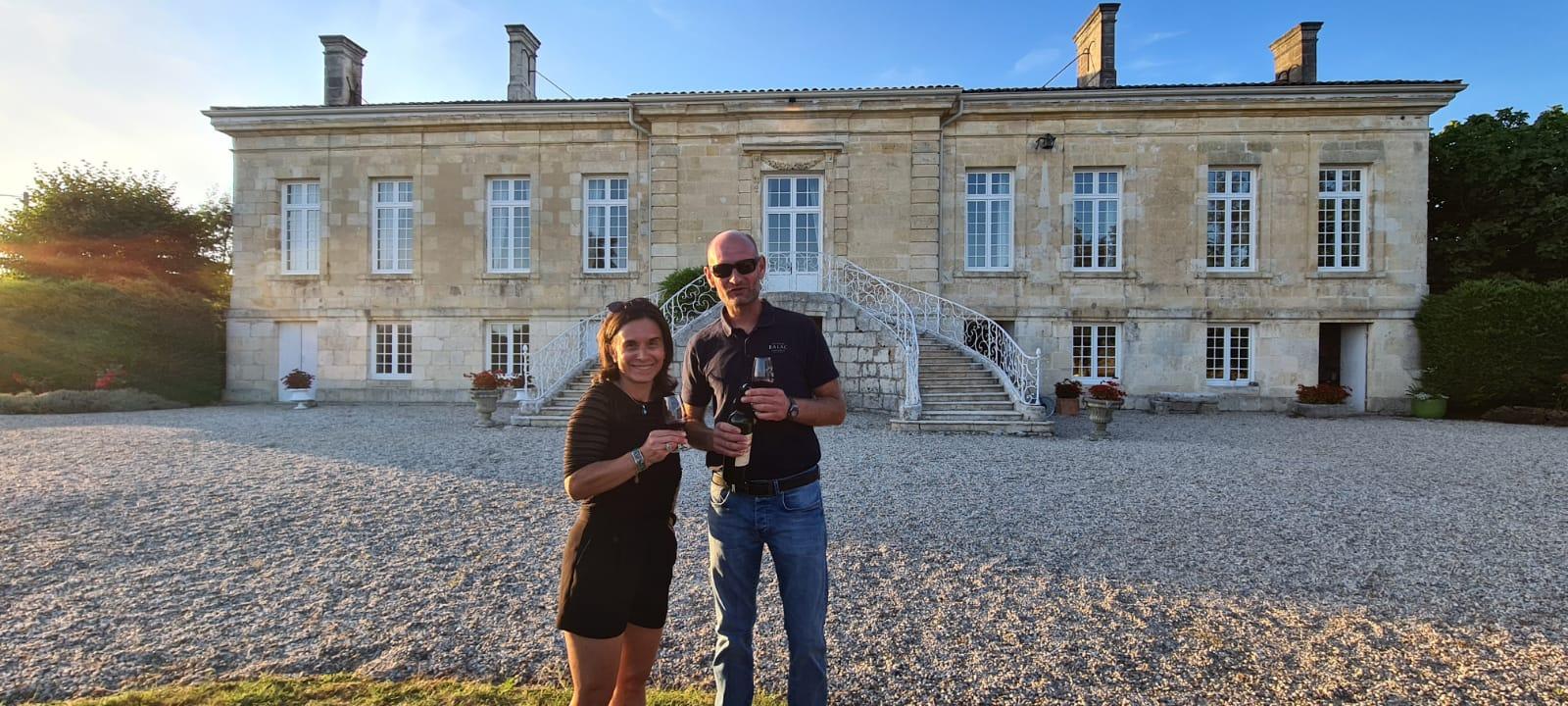 Visite château du Médoc