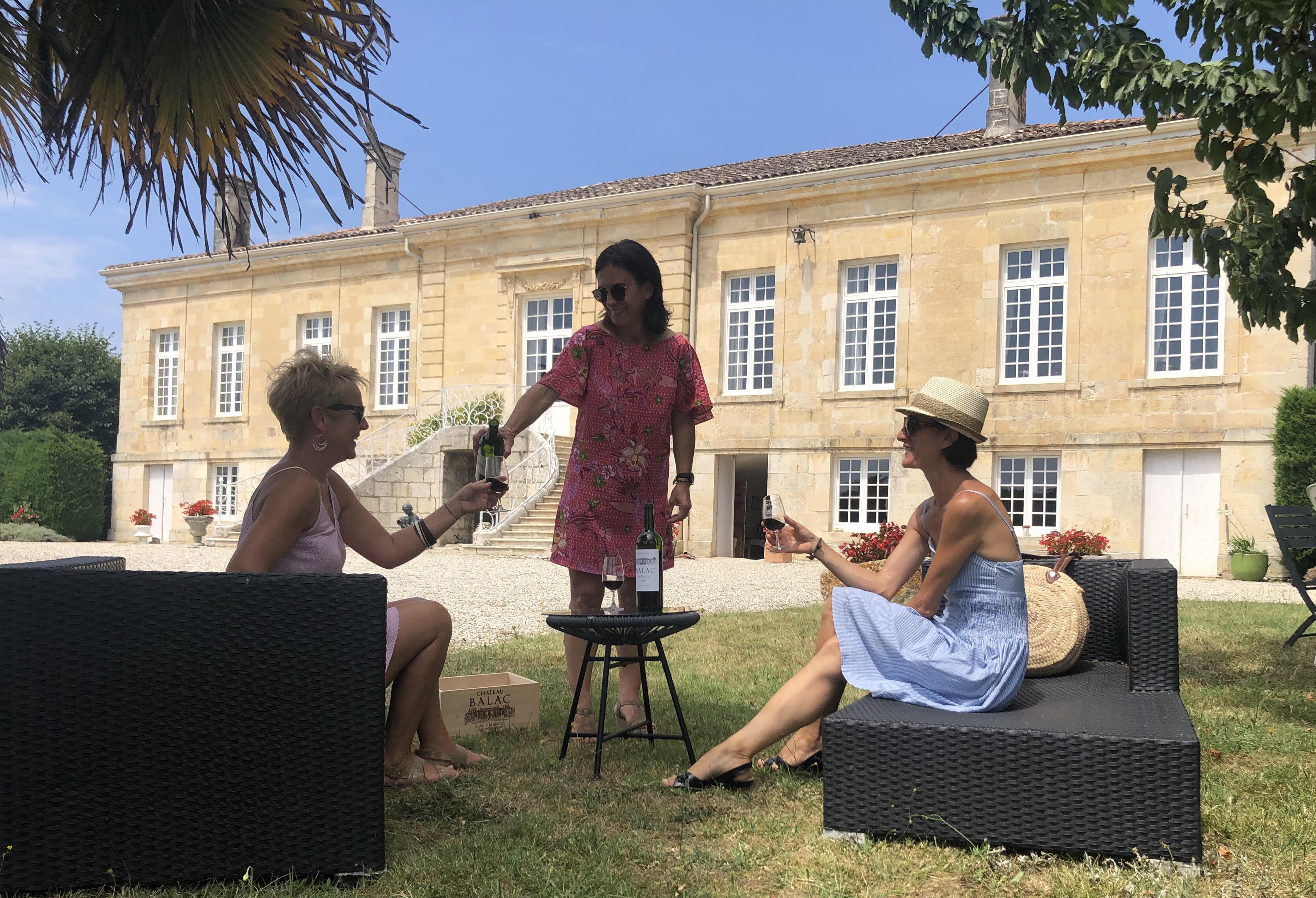 Visite de châteaux et dégustation de vins de Bordeaux