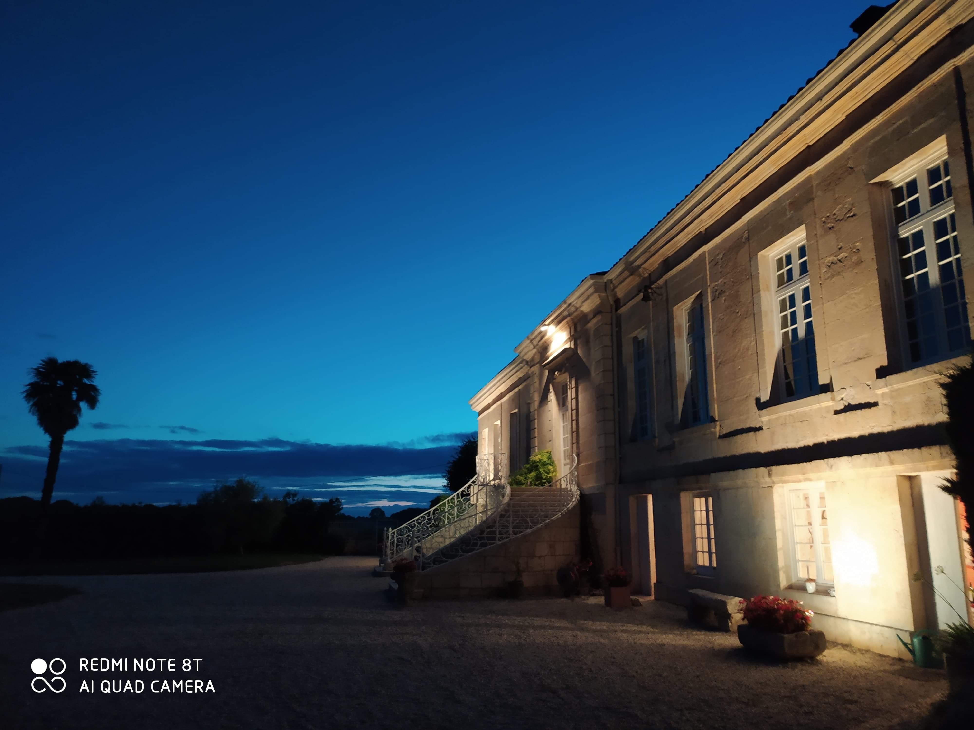 Visite d'un château du Médoc