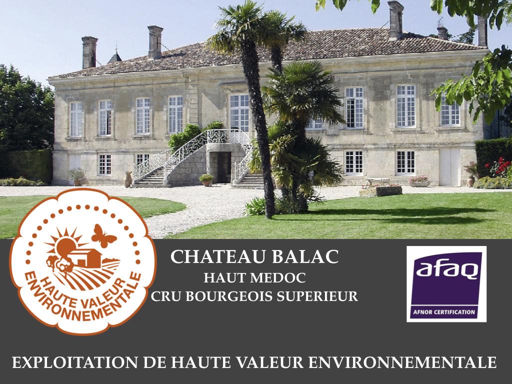 Propriété viticole certifiée Haute Valeur Environnementale HVE